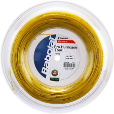 BABOLAT Tennis Stringa-Pro Hurricane Tour - 200m Reel - 1.20 mm / 18g-Giallo