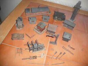 HO  Faller  and  Kibri  Trackside  Buildings  (12)