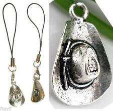 Pendagli argento per borsa e cellulare di bigiotteria