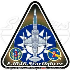 F-104 STARFIGHTER TAÏWAN Lockheed F-104G Taïwanais Aérienne Autocollant