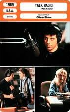 FICHE CINEMA : TALK RADIO - Bogosian,Greene,Baldwin,Wincott,Stone 1989