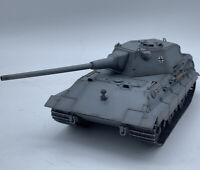 New 1/35 Scale WWII German Army E-50 Heavy Duty Tank German Grey Color PVC Model