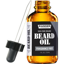 Beard Oil and Leave-In Conditioner Fragrance Free by Leven Rose - 1 oz
