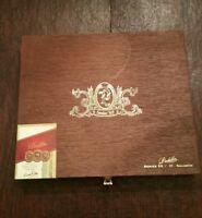 Padilla Robusto Series 68 Wooden Cigar Box Empty Keepsake Momento Box