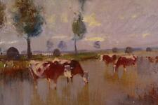 Künstlerische Malereien im Impressionismus-Motiv