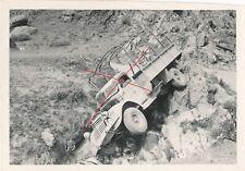 Nr.30986 Foto  Vormarsch Griechenland 1941 LKW Unfall Tompipass  Mazedonien
