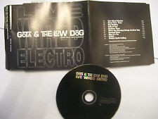 GOTA & THE LOW DOG Live Wired Electro – 1995 UK CD PROMO – Breaks, Electro RARE