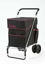 Little Donkee in Black and Fuchsia (PULL version) by Sholley Trolley