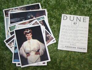 Dune lot of 25 Panini album stickers