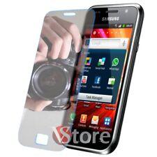 2 Películas Espejo Para Samsung Galaxy S Plus i9001 Protector De Pantalla