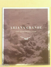 NEW ARIANA GRANDE 2015 HONEYMOON TOUR PROGRAMME MUSIC CONCERT SOUVENIR BROCHURE