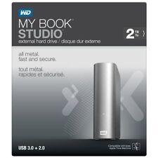 NEW WD My Book Studio 2TB USB 3.0 for MAC External Hard Drive WDBCPZ0020HAL