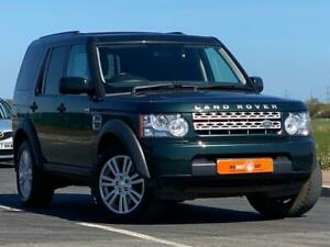 2013 63 LAND ROVER DISCOVERY 3.0 4 SDV6 COMMERCIAL 5D AUTO 255 BHP DIESEL