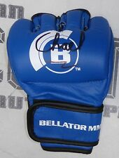 Chael Sonnen Signed Official Bellator MMA Blue Fight Glove BAS COA UFC Autograph