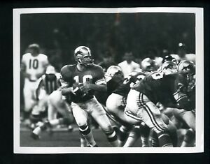 Monday Night Football 1970 Press Photo Bill Munson Detroit Lions vs LA Rams