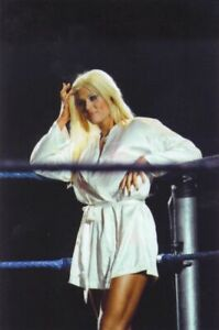 Torrie Wilson WWE White Robe PHOTO 4x6 8x10 (Select Size) #042