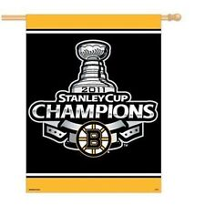 Boston Bruins NHL 27 x 37 CHAMPIONS 2011 Flag Banner