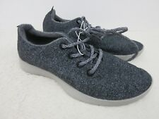 ALLBIRDS Natural Grey Wool Runners w/ Light Grey Sole Athletic Men's Size 8 NEW