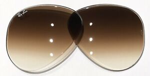 Ray Ban RB3025 RB3026 RB3030 RB3138 RB3689 Brown Gradient Replacement Lenses 58