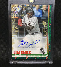 #1/1! 🚨2019 Topps Holiday Eloy Jimenez RC Gold Foil Auto Rookie One Of