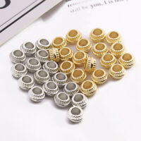 200 Pack 4 X 7 Mm Spacer Perlen 3,8 Mm Loch Spacer Für Armband Halskette