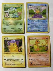 HOLO Starter 1st Edition Shadowless Base Set Replica/Proxy Cards