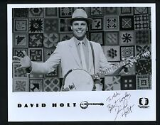 David Holt Signed Autographed 8x10 Photo mountain music and southern folk tales