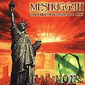 Contradictions Collapse/None by Meshuggah (CD, May-1999, Nuclear Blast)