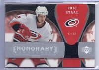 2007-08 UD TRILOGY ERIC STAAL HONORARY SWATCHES JERSEY