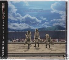 New Attack on Titan Shingeki no Kyojin Original Soundtrack CD Japan PCCG-1351