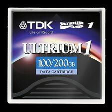 TDK LTO Ultrium 1 Cartridge 100/200GB (27580) -NEW
