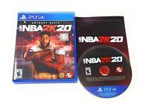 NBA 2K20 (Sony PlayStation 4, PS4) FAST FREE SHIPPING!!!!