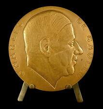 Médaille Général Charles De Gaulle par Rivaud 1945 Arc de triomphe 1940 Medal
