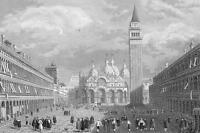 ITALY North Venice Bologna Ferrara - 1860 SCARCE Print Multiple Views