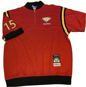 """STALL & DEAN Rucker Park 1/4 Zip Basketball JERSEY """"Jewels"""" Pull Over Shirt XXL"""