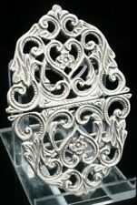 Antique Solid Silver Buckles Post-1940