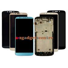 For Motorola Moto E5 XT1944/E5 Plus XT1924/E5 Play XT1921 LCD Touch Screen Frame