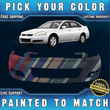 NEW Painted To Match - Front Bumper Cover Fascia 2006-2013 Chevy Impala With Fog