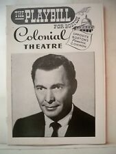 TOO LATE THE PHALAROPE Playbill BARRY SULLIVAN Tryout BOSTON Flop 1956