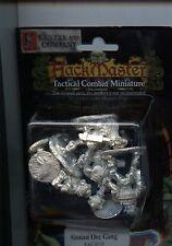 Hackmaster Tactical Combat Simian Orcs Gang (4) MINT