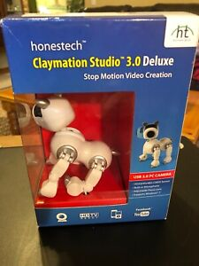 Claymation Studio 3.0 Deluxe for Windows Vista / 7 / XP/Mfg. Sealed in Box
