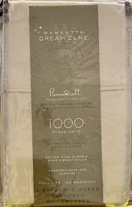 Wamsutta - 🌛Dream Zone🌜 - Queen Pillowcases - 1,000 TC - Ivory - **NEW**