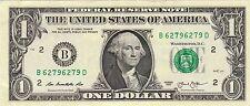 $1 2013 Fancy Serial B62796279D  REPEATER!!!!