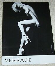 2011 print ad - Versace fashions Sexy nude girl shoes Advertising ADVERT Page