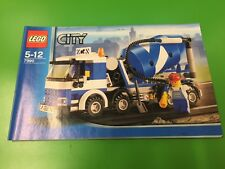 Lego CITY 7990 Cement Mixer building instruction manual book ONLY YEAR 2007