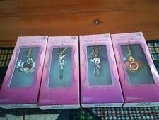 Sailor Moon Mini Charms lot: Garnet Orb, Silence Glaive, Pluto Henshin Wand +