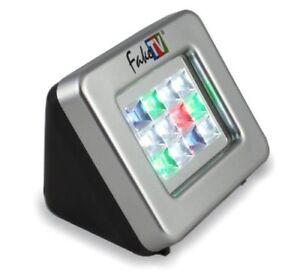 FakeTV FTV-11-US Extra Bright Burglar Deterrent w/ Timer Home Security System