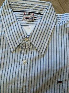 chemise blanche rayer homme TOMMY HILFIGER
