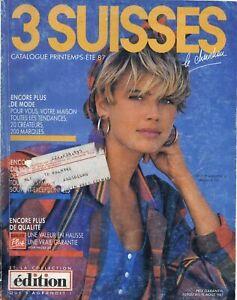 CATALOGUE 3 SUISSES PRINTEMPS-ETE 1987 - Numérisé HD