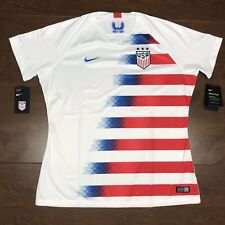 New Nike Team Usa Womens Size Xl Soccer Red/White/Blue Jersey 2018 893961-100
